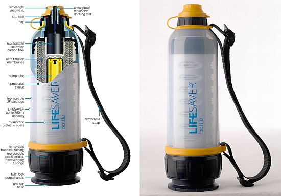 Lifesaver water bottle- Quenching man's thirst for clean ...