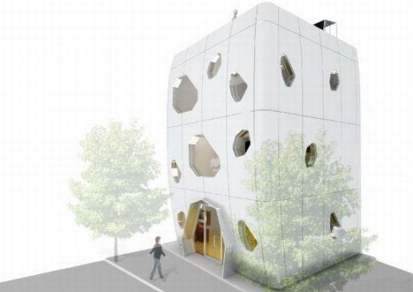 live pod prefabricated dwelling