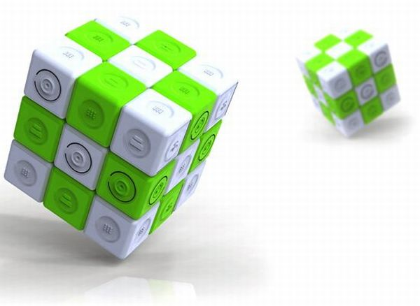 Magic Rubik's Cube charger
