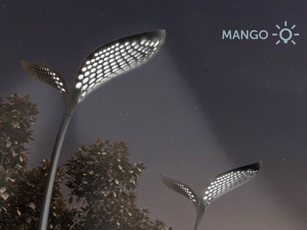 Mango eco-designed street lamp