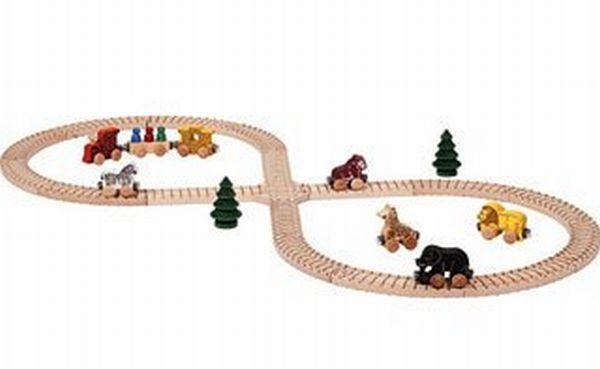 Maple Landmark Name Train - Safari Set