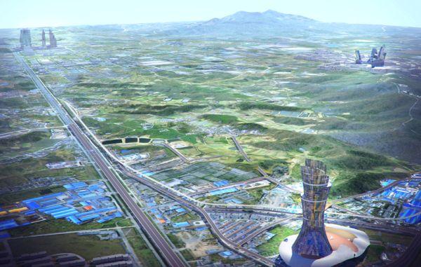 Masterplan for Nanjing