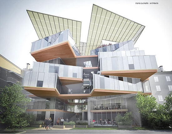 Eco architecture mc architects design solar powered for Residential architecture design