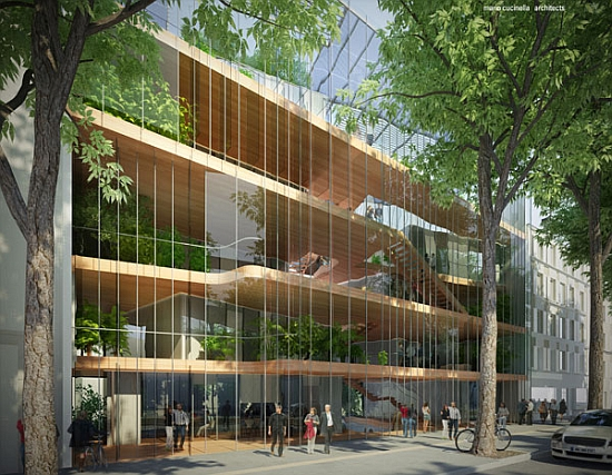 Eco Architecture MC Architects Design Solar powered