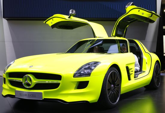 mercedes benz sls amg e cell 4