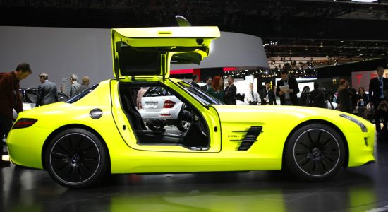 mercedes benz sls amg e cell 5