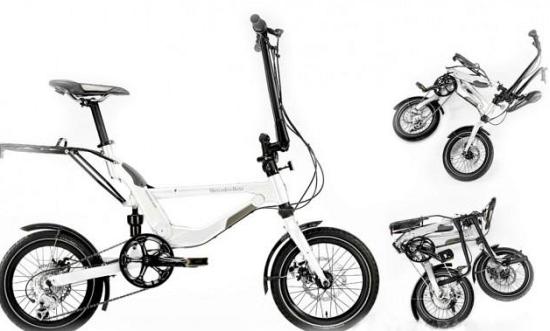 mercedes benz foldingbike 1