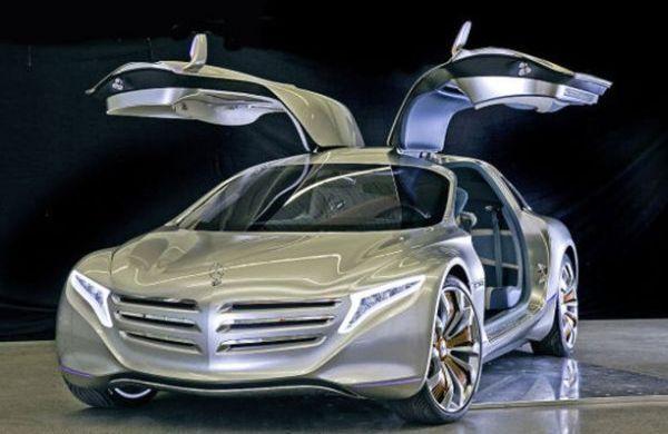 Mercedes Benz F125 Hydrogen Gullwing Concept