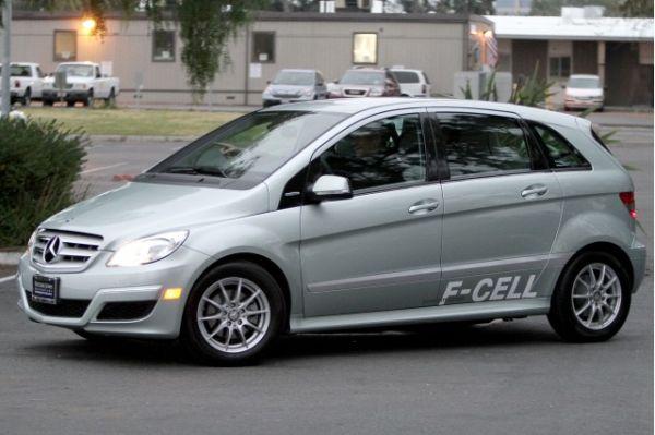 Mercedes-Benz Hydrogen Fuel Cell Cars