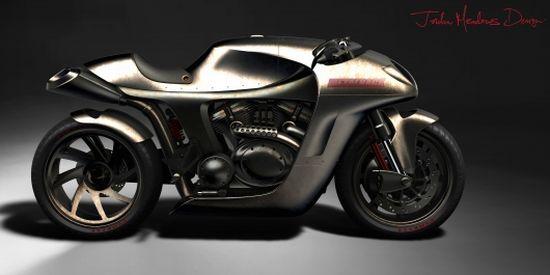 metalback concept motorcycle 1