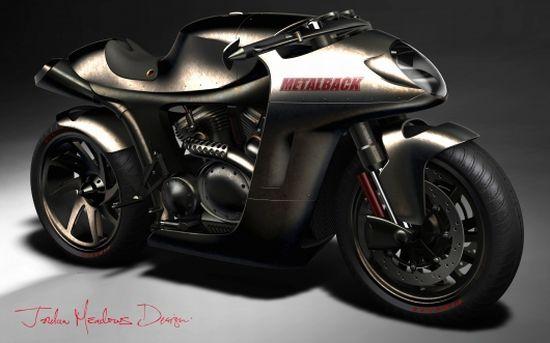 metalback concept motorcycle 2