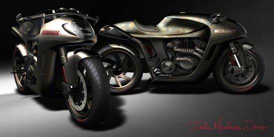 metalback concept motorcycle 3