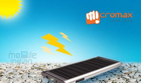 Micromax to launch phone with solar panel