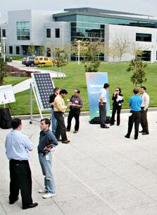 microsoft goes solar