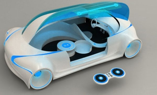 Midier Solar-powered car