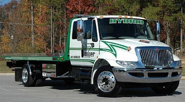 Miller diesel-electric hybrid truck