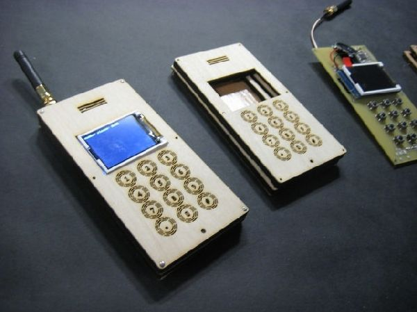 MIT Makes Wooden Cell Phone