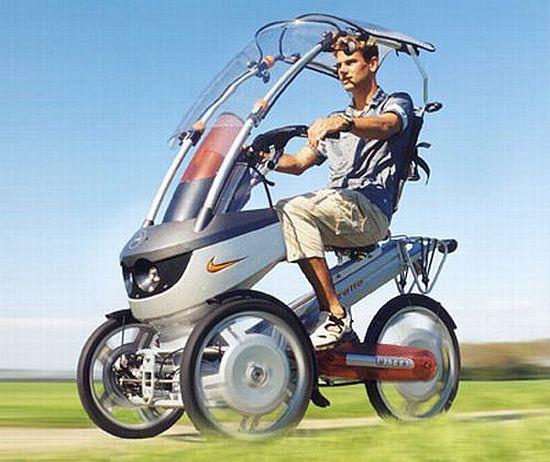 Eco Trikes Mitka Trike Human Electric Hybrid Promises A