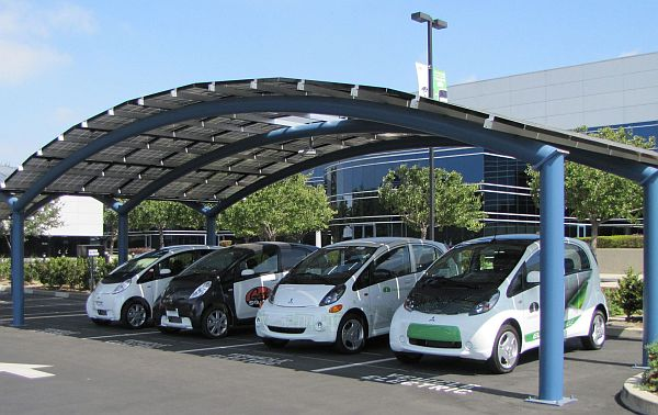 General Electric Electric Car Charging Stations