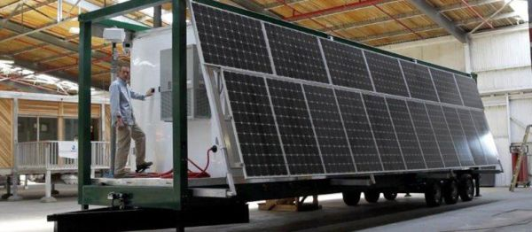 Mobile Solar Powered Rapid Response Unit