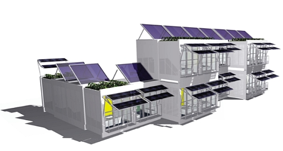 Eco Factor: Self Sufficient Home Design Is Powered By Solar Energy.