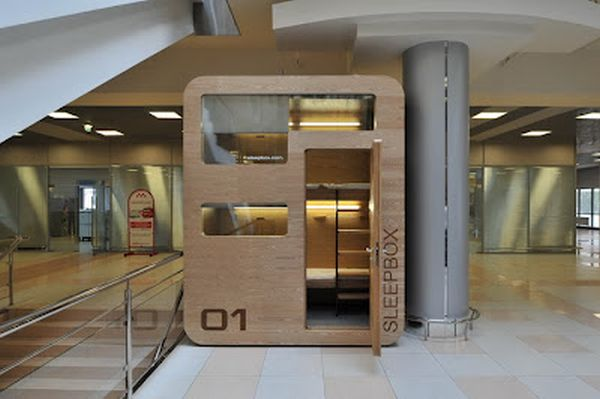 Modular Sleepbox An instant Shelter