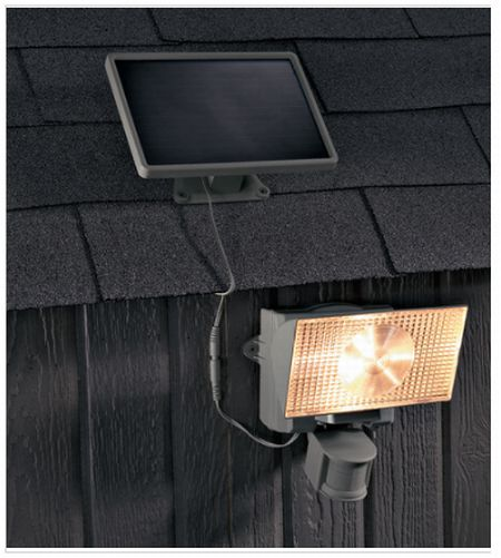motion activated solar light