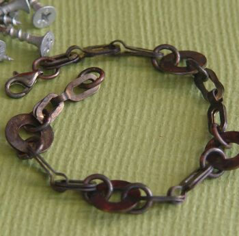 motor city metal mens bracelet
