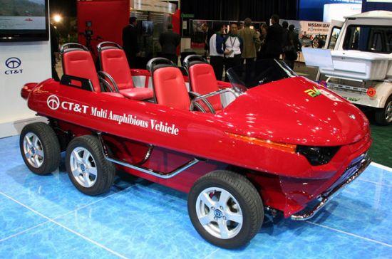 multi amphibious vehicle