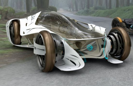 Most spectacular solar-powered concept cars of 2010 - Ecofriend