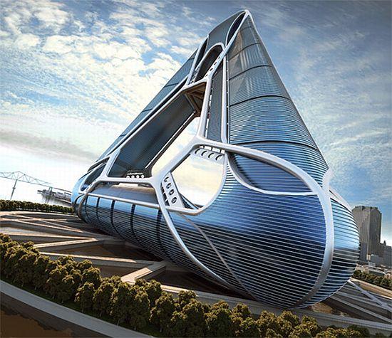Futuristic Architecture Eco Architecture Gigantic