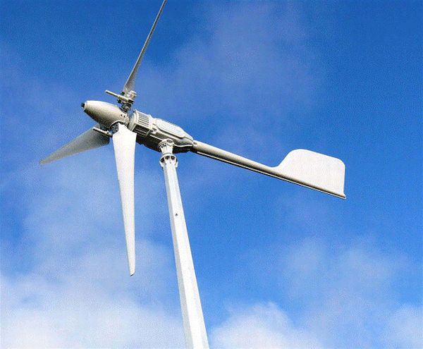 Noise-free highly efficient wind turbines