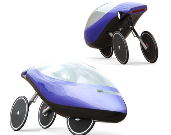 novelo hybrid velomobile 1