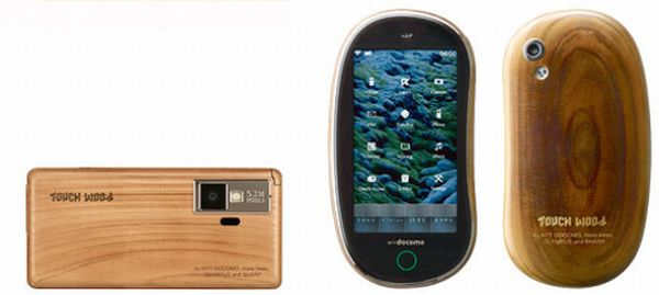 NTT Wood Cell Phone Concept