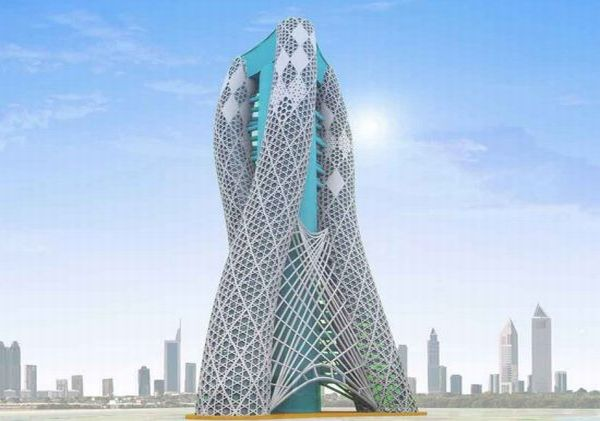 Exotic And Sustainable Spiraling Towers Ecofriend
