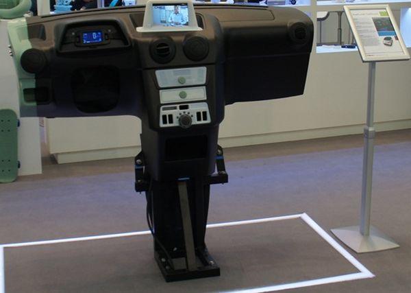 Objet Geometries 3D Prints Electric Car Dashboard