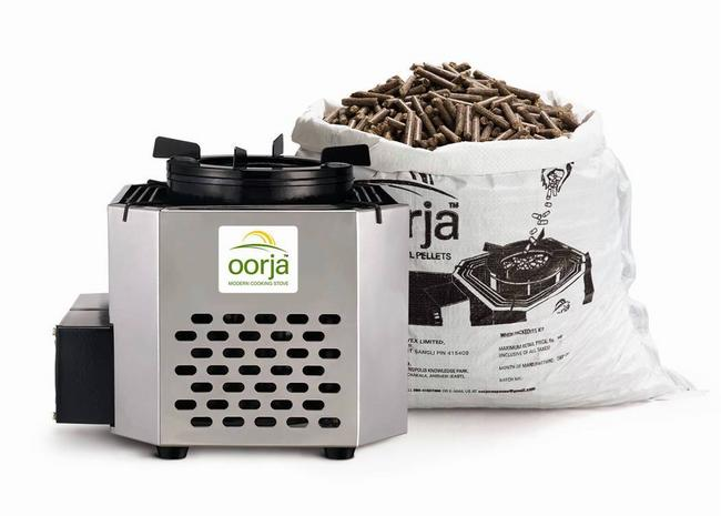 Oorja cooking stove