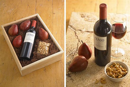 Green Gifts: Organic Wine Gift Basket - Ecofriend