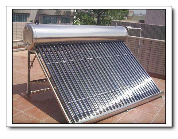 OUSUN solar water heater.