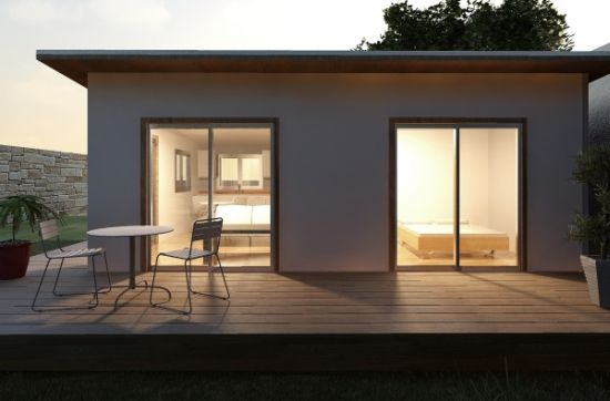 Eco Homes P Pod Prefabricated Housing Kit Lets You Go