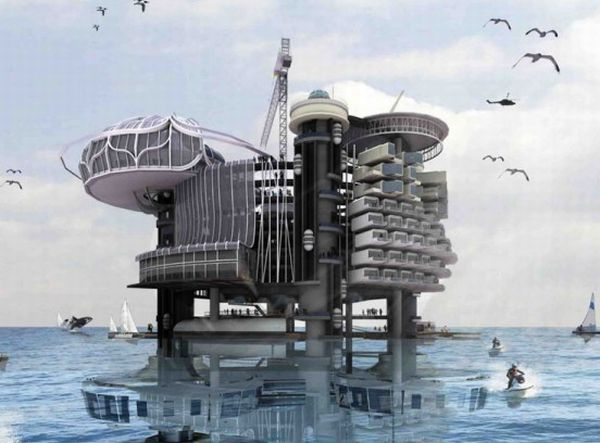 An Oil Rig Once The Perfect Home Of Future Ecofriend