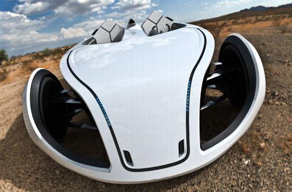 P-Eco electric concept vehicle