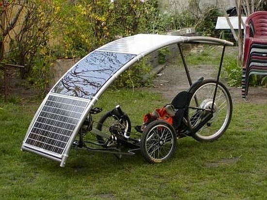 Eco Bikes Pannon Rider Solar Powered Bike Saves You