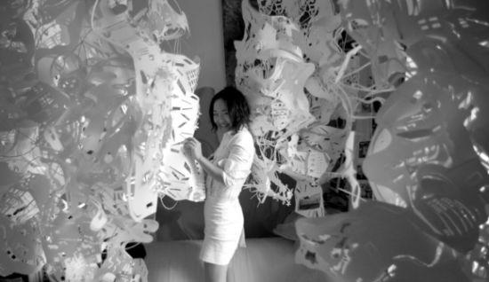 paper chandelier 2
