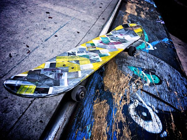 Paper Skateboard by AGENT