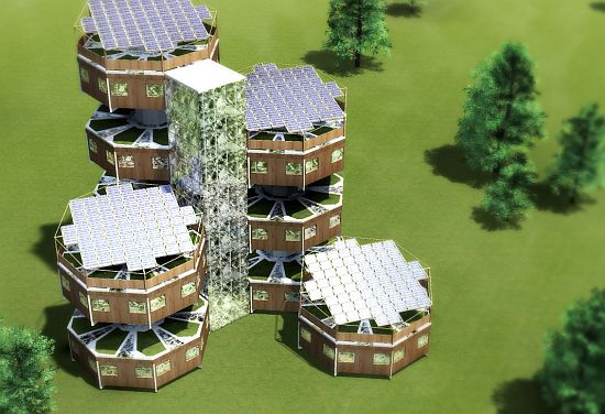 parassity solar powered living module 1