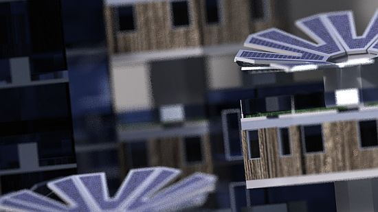 parassity solar powered living module 7