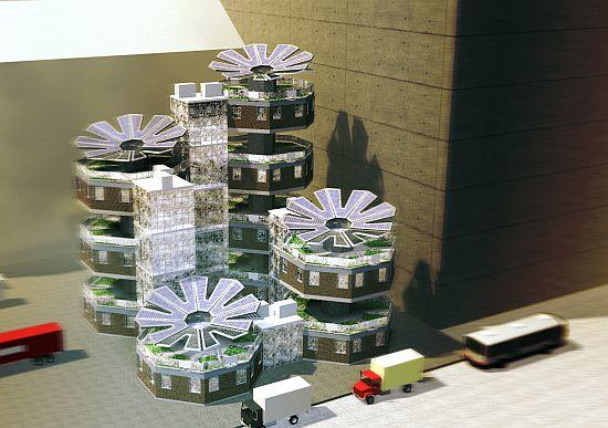 parassity solar powered living module 8