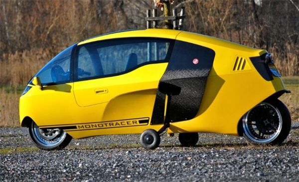 賞を獲得した電気自動車「MotoTr...