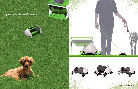 eco gadgets solar powered pet waste cleaner aims to green your best
